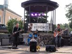 Classic rock band, The Verdict, takes the stage as part of downtown West Bend's Music on Main concert series.