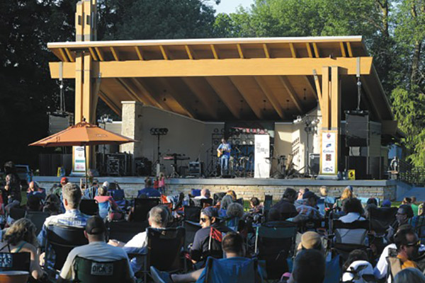 Cedarburg Band Shell Concert